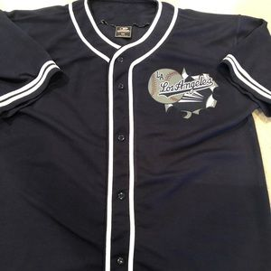 Xxl Colosseum LA Dodgers button jersey